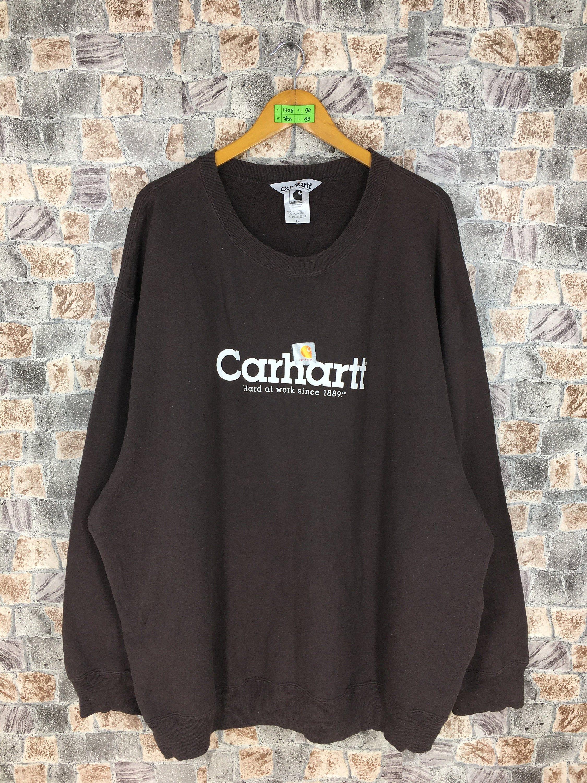 Carhartt Jumper Crewneck Oversized Unisex Vintage 1990 S Etsy Carhartt Pullover Vintage Sportswear Sweater Sizes [ 3000 x 2250 Pixel ]