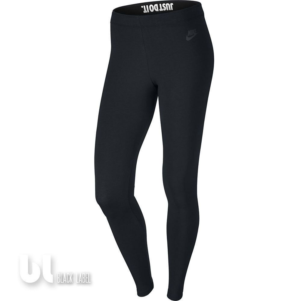 nike leg a see just do it damen sport leggings fitness jogging leggings schwarz nike just do. Black Bedroom Furniture Sets. Home Design Ideas