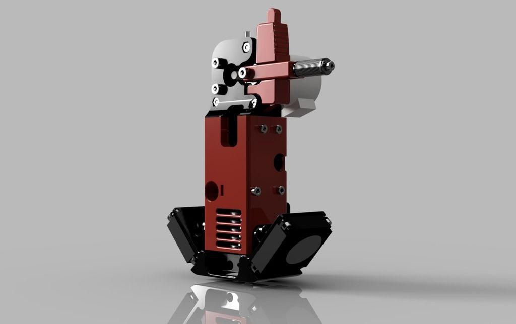 Ultimaker 2 PG35L Direct Drive Extruder for 1.75mm E3D v6
