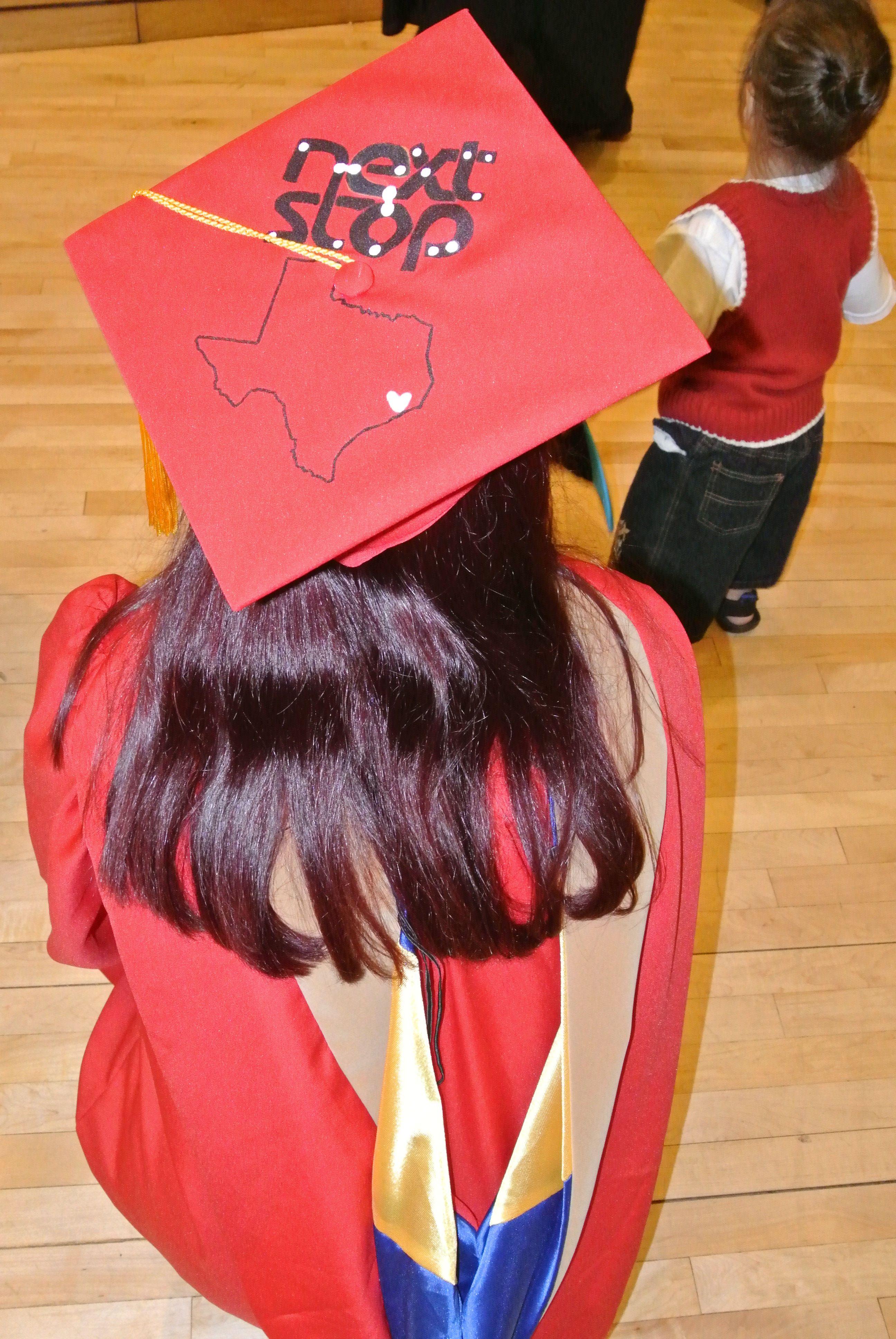 Graduation cap design. Stony Brook University. Masters ...