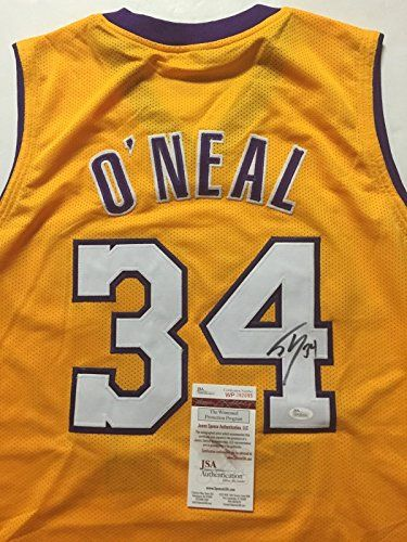 bc836340 Shaquille O'Neal Los Angeles Lakers Signed Basketball | Cool Laker ...