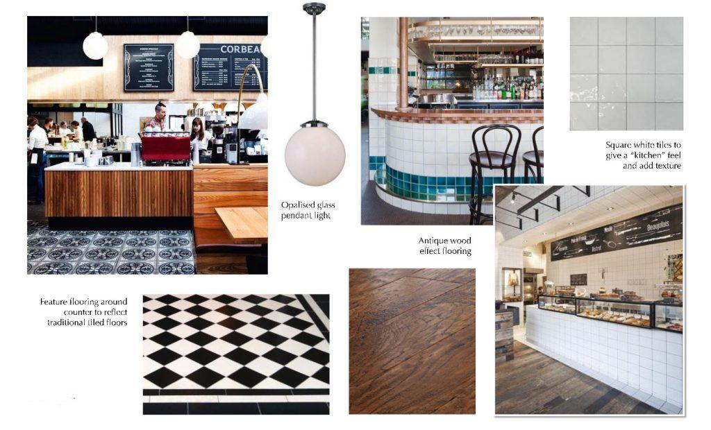 #retro #coffeebar #tiles #tiled #30sinspired #30s