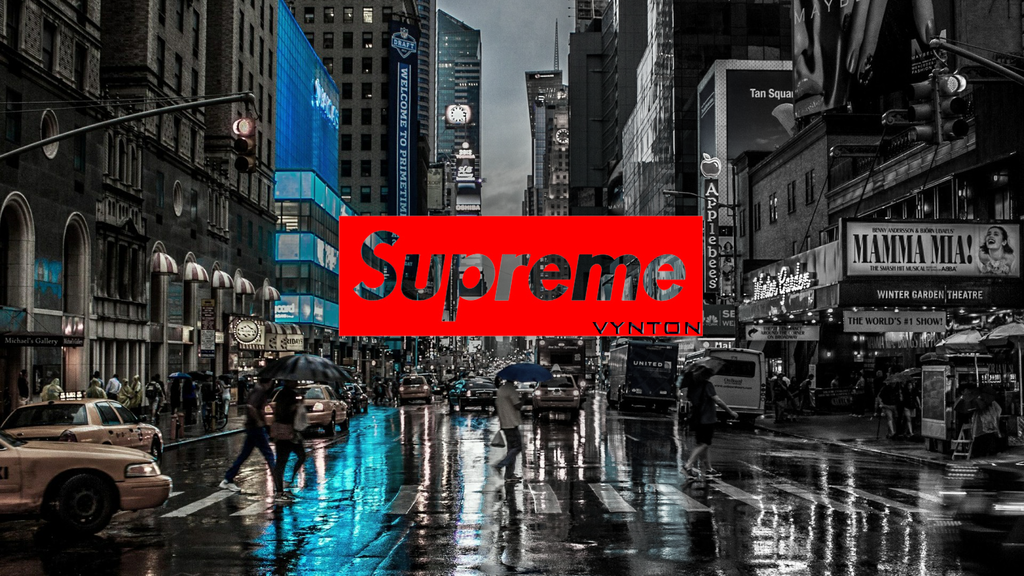 Supreme New York By Https Vynton Deviantart Com On Deviantart Usa New Black Supreme Wallpaper Computer Wallpaper Desktop Wallpapers Kaws Iphone Wallpaper