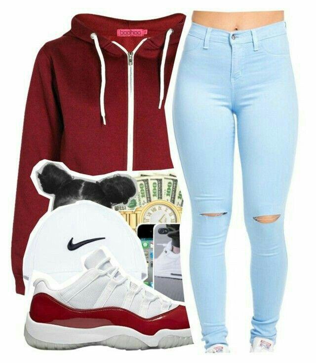 b706cd4e6471 ✨YouTube  jaimie s world Pinterest   Jaimie duckworth✨ Jordan Outfits For  Girls