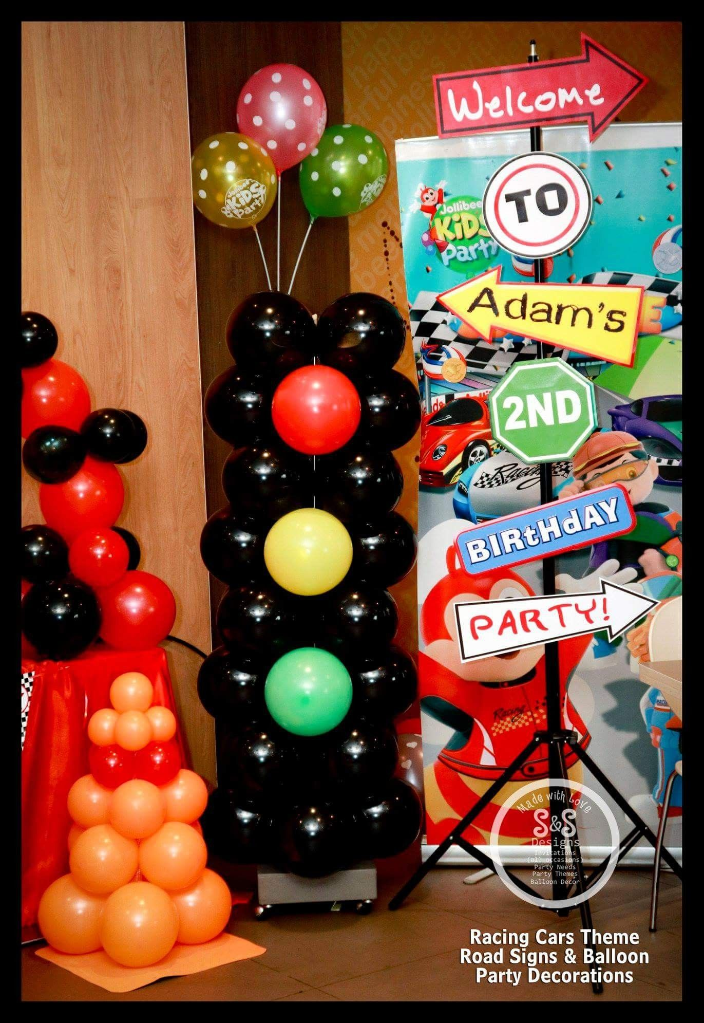 Racing Cars Party Decorations
