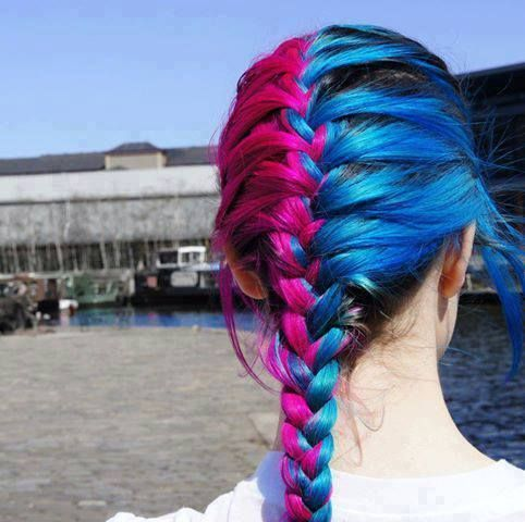 Pin On Crazy Colorful Hair