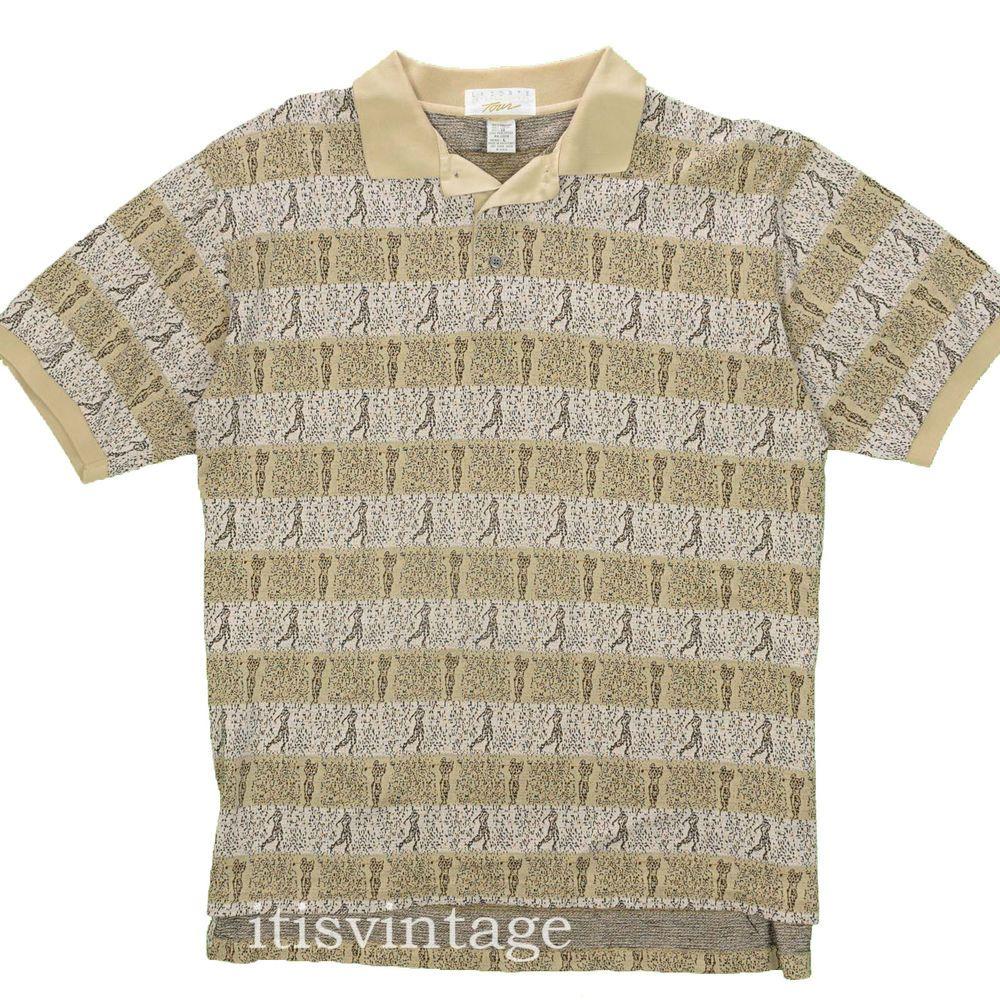 e24434e1b3a8b Lacoste International Tour Shirt Vintage Early 90's Large Tom Watson ...
