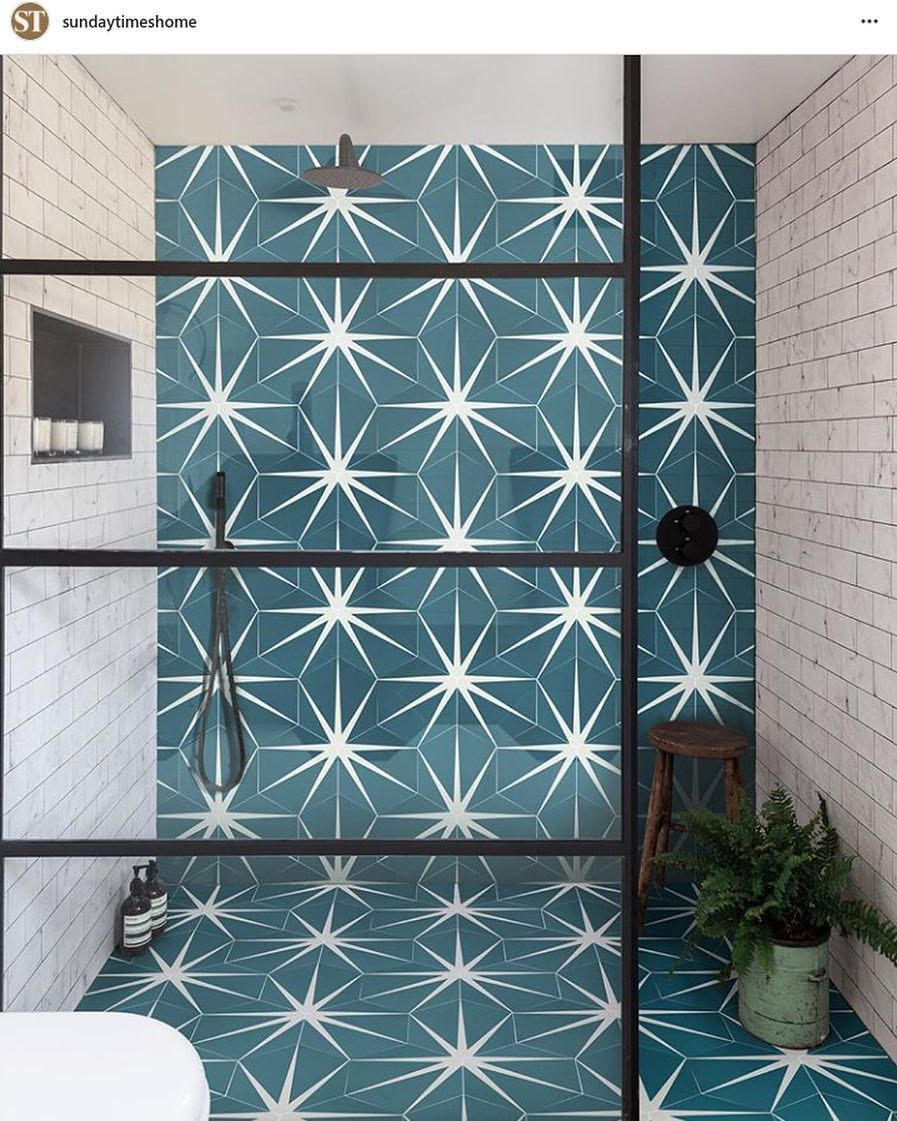 Ca Pietra On Instagram A Huge Thank You To Sundaytimeshome For This Superb Feature Of Our New Lilypad Porcel Bathroom Inspiration Wet Rooms Bathroom Colors