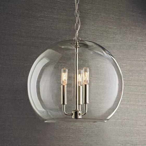 Glass Globe Chandeliers