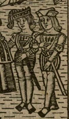 - OPUS INCERTUM - : LAS CALZAS-BRAGAS 1514. Grabado de La Celestina, edición Valencia (detalle)