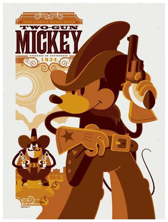 Mickey by Tom Whalen