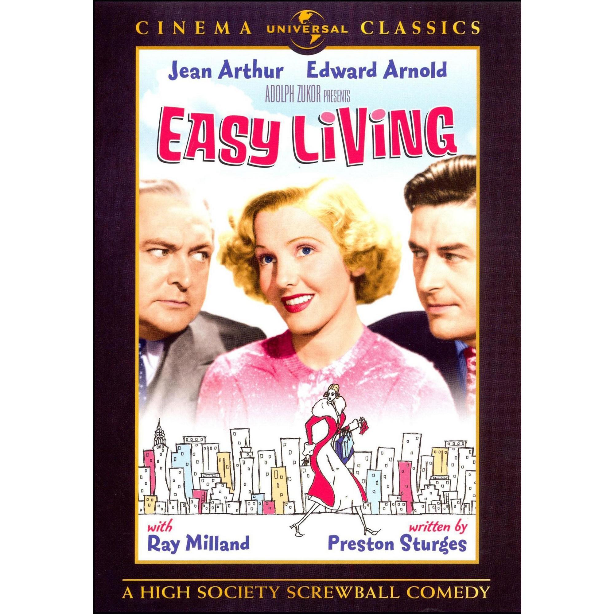 Easy living dvd movies simple living jean arthur