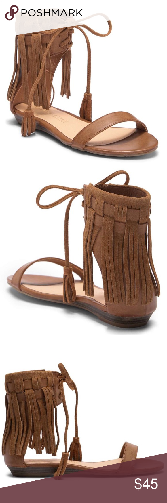 2ea57cb9c Very Volatile Aubrey Fringe Sandal Coming Soon Boho style fringed lace-up  sandal -Open