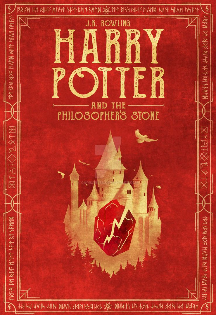 Harry Potter And The Philosopher S Stone Book 1 By Chrisables