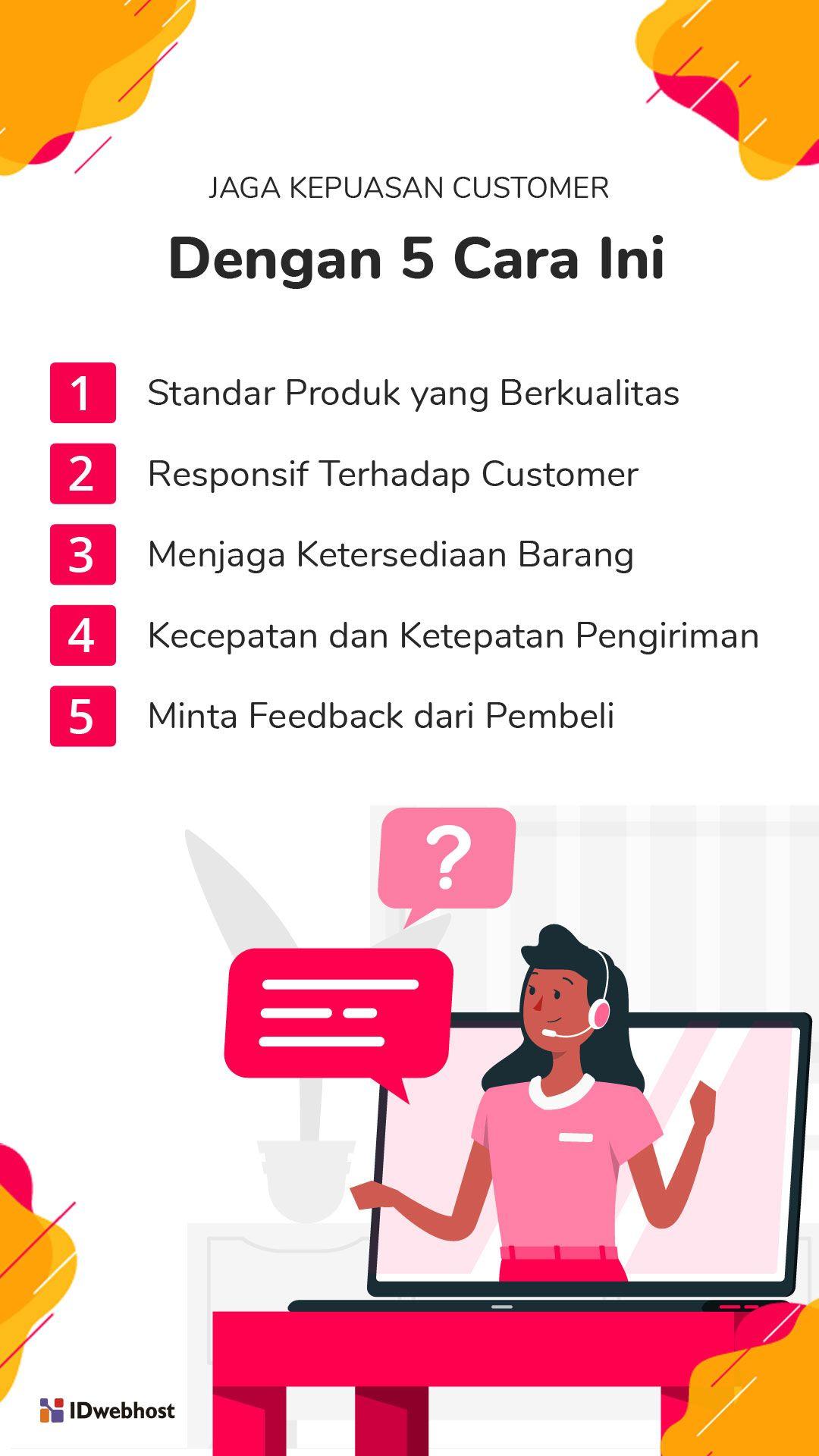 Jaga Kepuasan Customer Produk Pengikut Sahabat