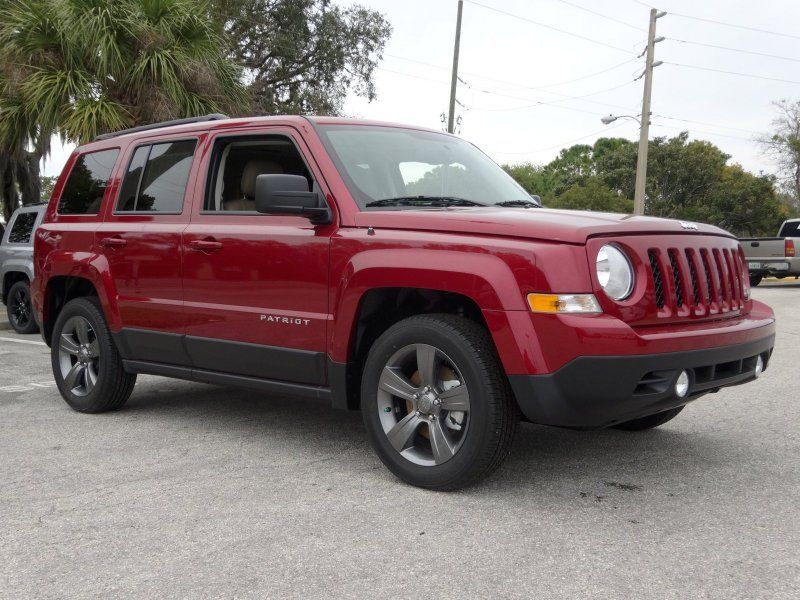 2014 Jeep Patriot Latitude Deep Cherry Red Crystal Jeep