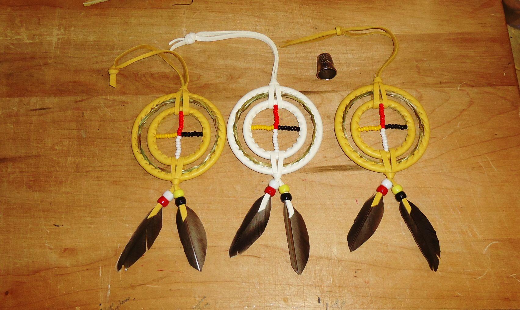 3 Inch Sweetgrass Medicine Wheels
