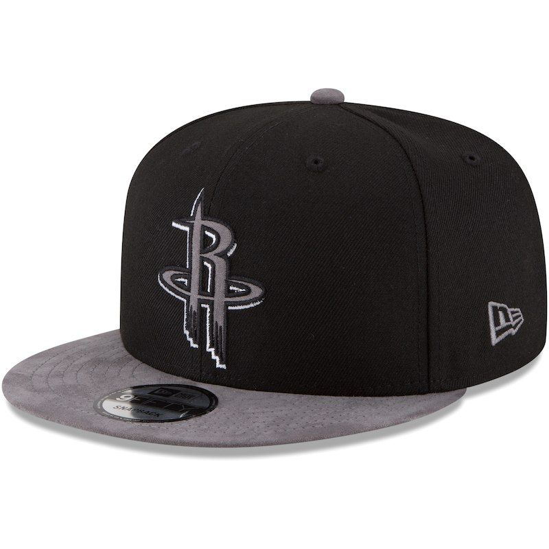 new concept e6e22 f0d6f Houston Rockets New Era Tonal Choice 9FIFTY Adjustable Hat – Black Gray