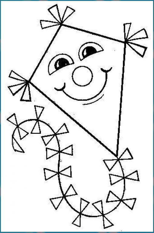 winddrachen malvorlage herbstbastelnmitkindernfensterb
