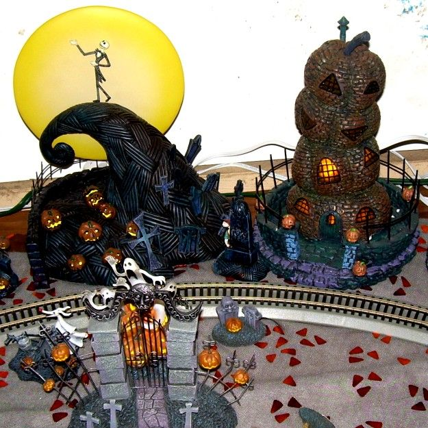 i want this as a village in my home instead of the traditional christmas village its a nightmare before christmas village
