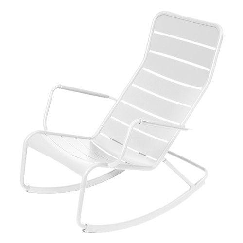 De Luxembourg schommelstoel is gemaakt van aluminium en afgewerkt met een…