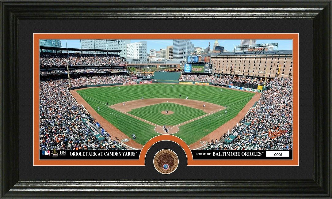 Aaa Sports Memorabilia Llc Baltimore Orioles Infield Dirt Coin Panoramic Photo Mint Baltimoreorioles Orioles Mlb Mlb Stadiums Orioles Baltimore Orioles