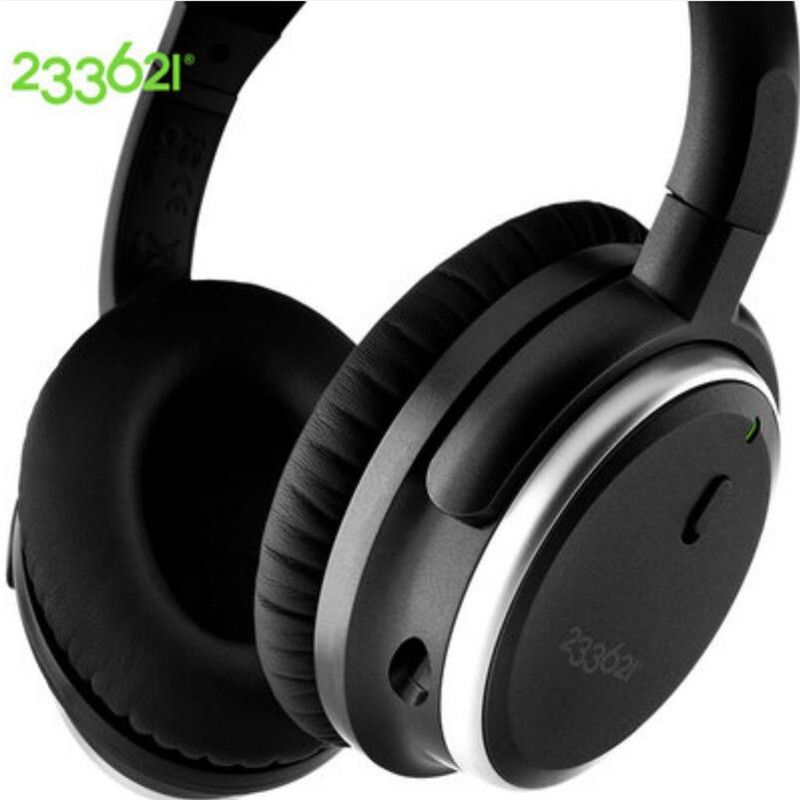 233621 H501 Intelligent Noise Control Headphone 92% Noise Reduction Active Noise Cancelling Headphone Bass Headset High Quality