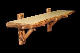 Log Wall Shelf Hogar En 2019 Madera Rustica Muebles Como Tallar Madera Y Mecedoras De Madera