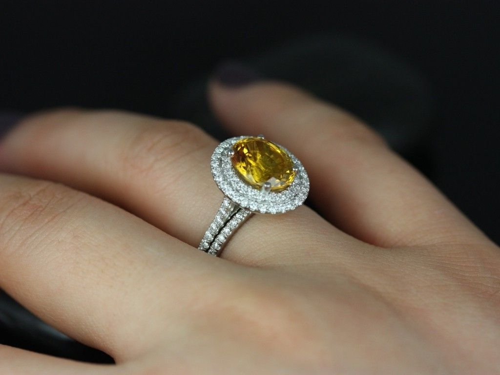 Fancy Yellow Diamond Rings Costco