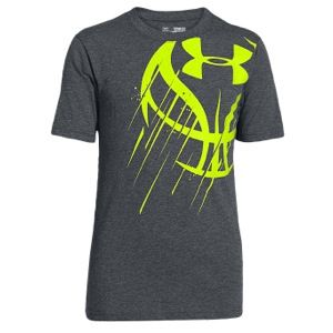 Under armour basketball icon t shirt boys 39 grade school for Under armour shirts for kids