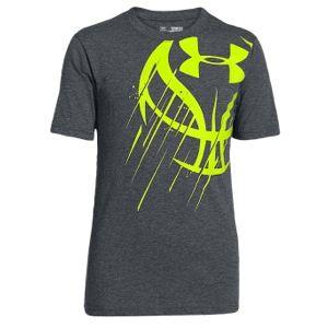Under Armour Basketball Icon T-Shirt - Boys' Grade School Kids Footlocker  $22 -