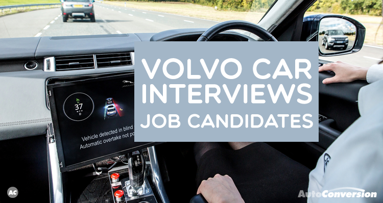 Volvo Car Interviews Job Candidates Volvo cars, Volvo, Cars