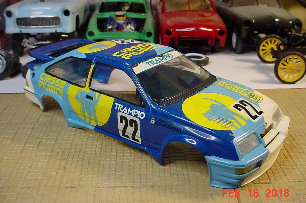 Tamiya Ford Sierra Xr4ti Trampio Ciesse Yokoshima 1 24 Body Only