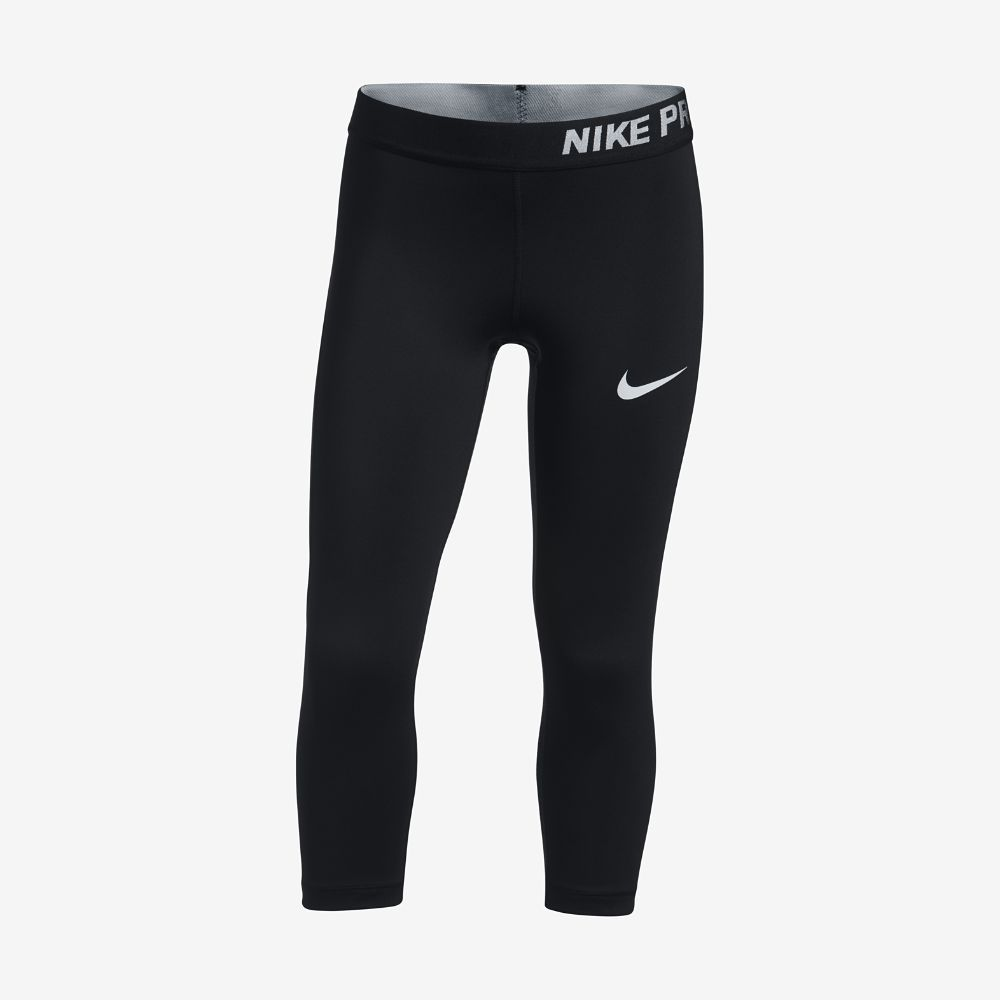 05ab7b1ed785 Nike Pro HyperCool Big Kids  (Girls ) Training Capri Pants Size ...