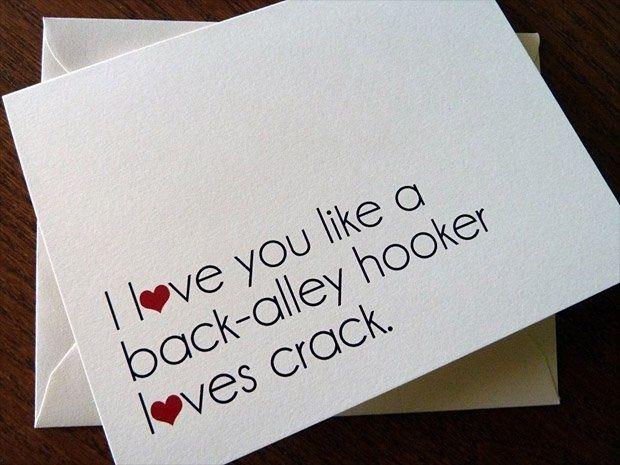 I love you... like crack