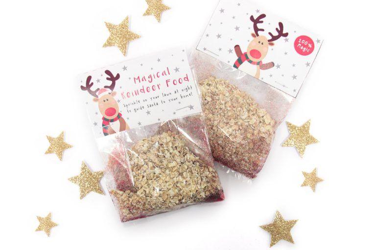 Magic Reindeer Food Recipe + Free Printable Labels | Party Delights Blog #reindeerfoodrecipe
