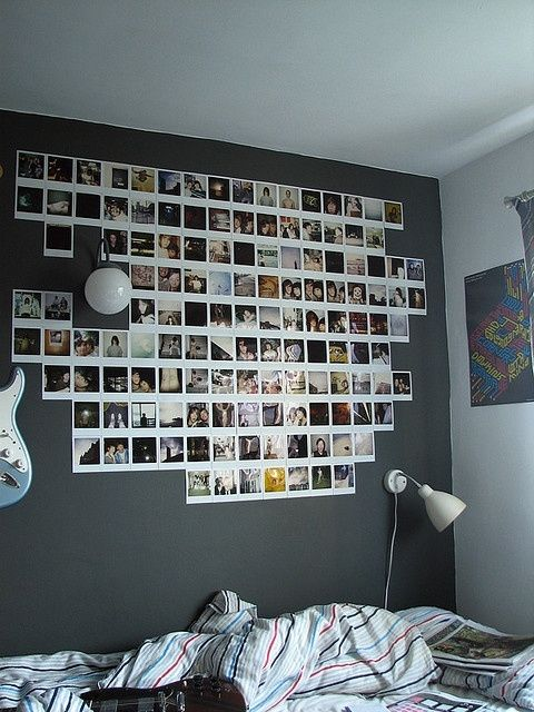 10 Cute Photo Decor Ideas For Your Dorm Photo Walls Bedroom Dorm Room Decor Photo Decor