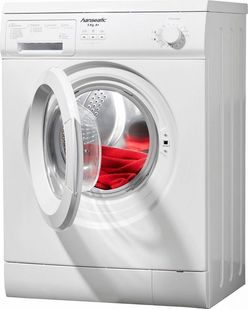 Diese Waschmaschine HWM510A1 von HANSEATIC brilliert durch