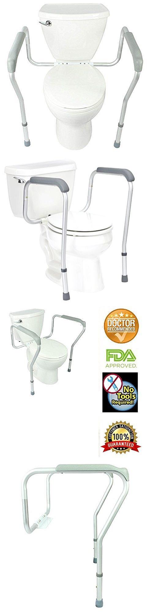 Bidet and Toilet Tissue Aids: Toilet Handicap Elderly Safety Frame ...