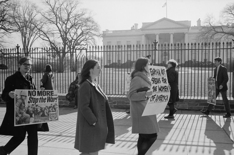 Behind The Anti War Protests That Swept America In 1968 Vietnam