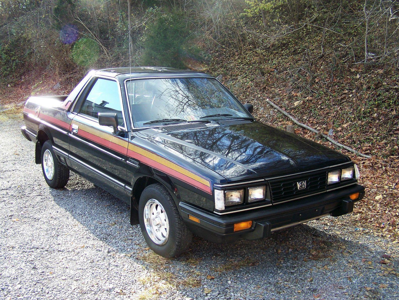 1984 Subaru BRAT GL 4X4 - Low Mileage Survivor for sale. Vintage ...