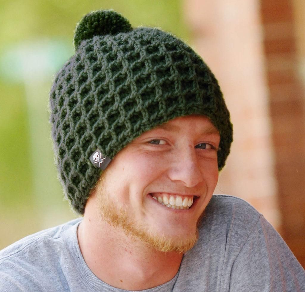 All About Free Mens Ribbed Crochet Hat Pattern Jjcrochet Kidskunst
