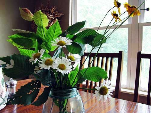 Flower Food For Your Vase: Combine 1 Quart Cold Water, 2