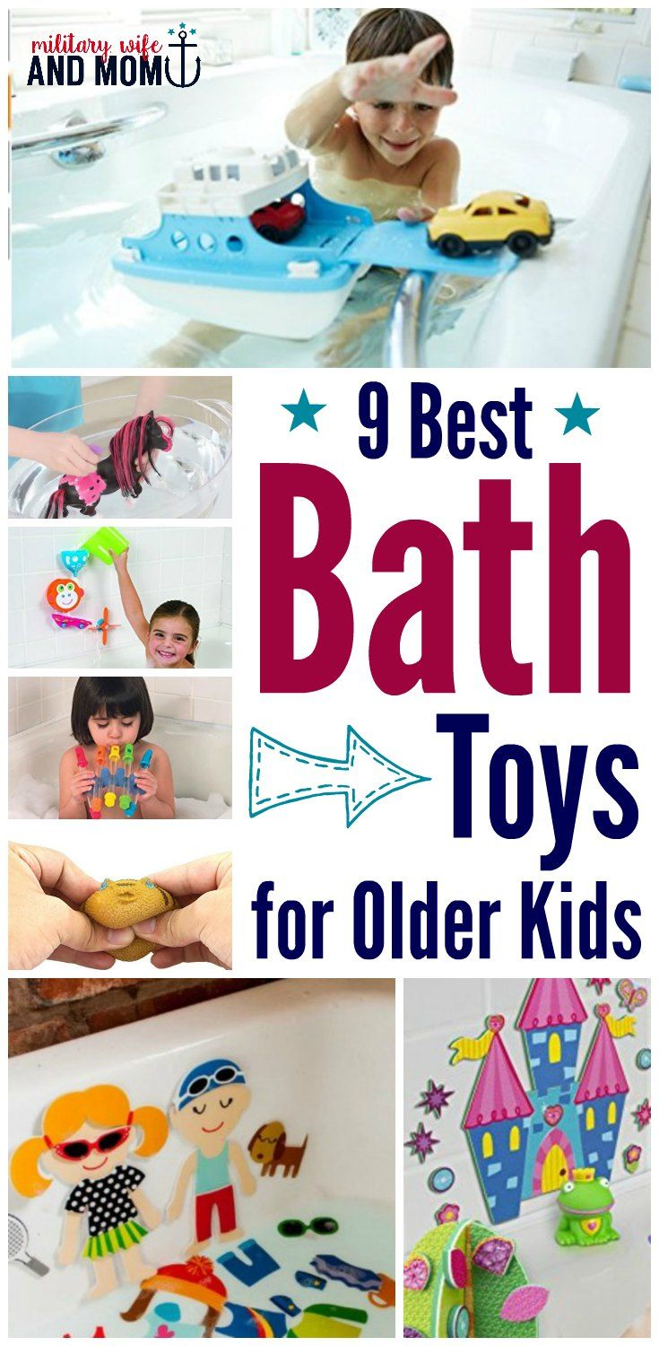 10 Perfect Bath Toys for Older Kids to Keep It FUN | Bath toys ...