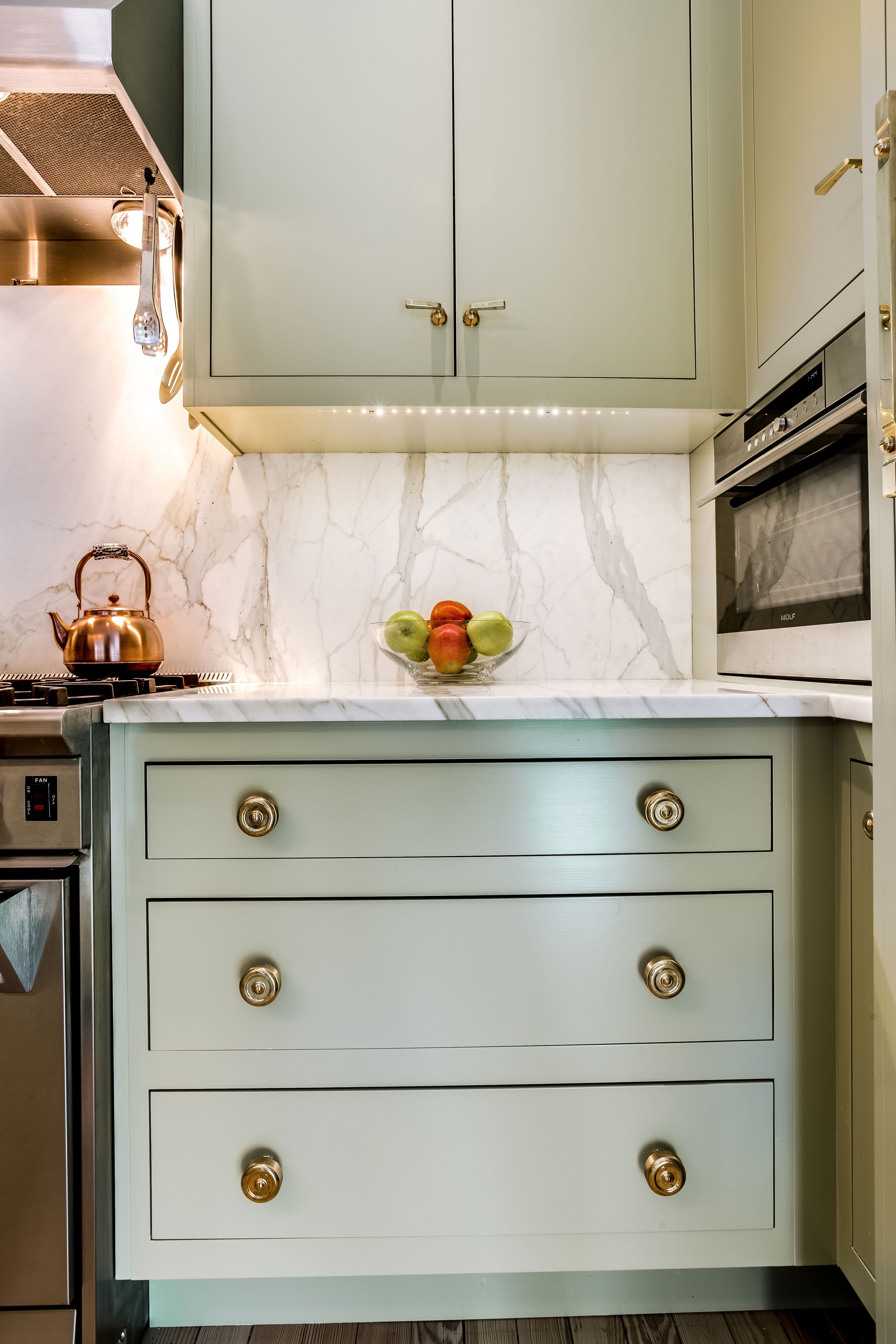 Olive green kitchen cabinets and drawers christian zapatka