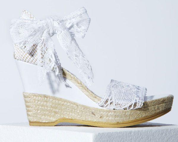 Cuñas para novias, comodidad en clave chic #boda #cuñas #zapatos ...
