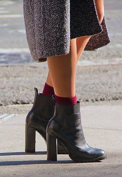 b4e07885e4 15 formas de lucir los calcetines sin sentirte ridícula