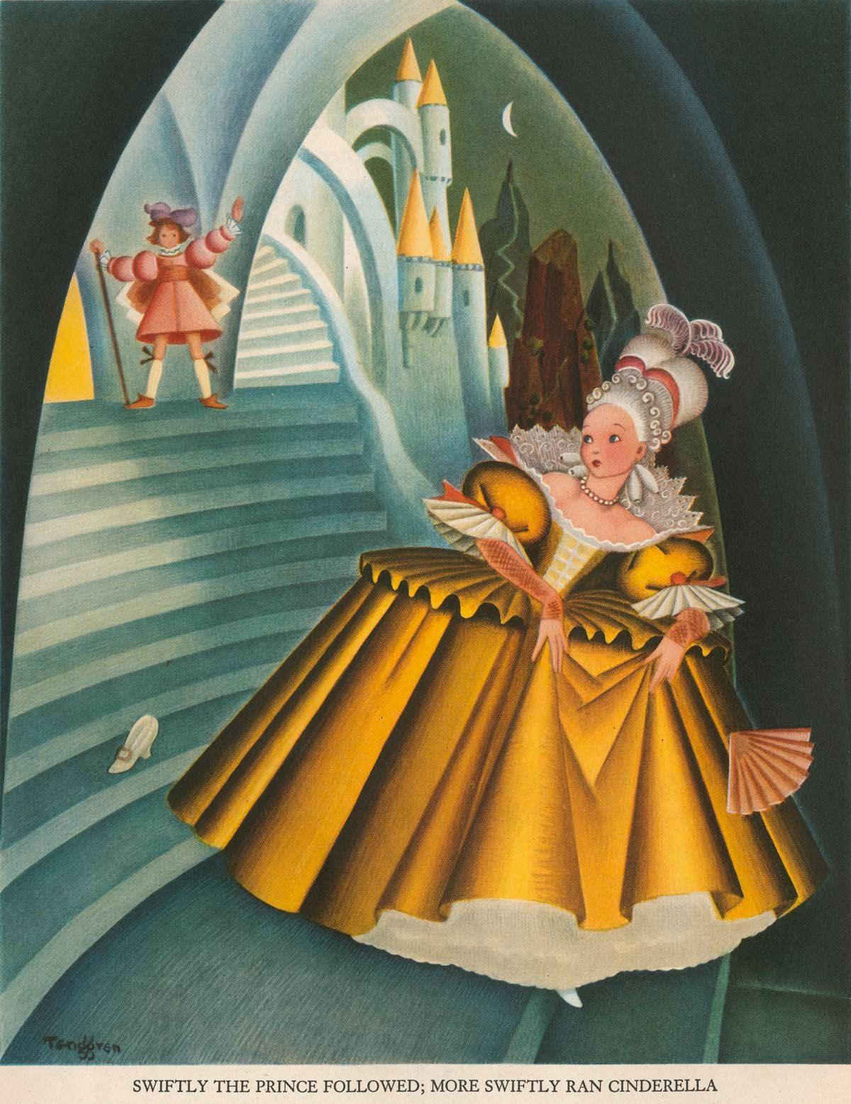 Gustaf Adolf Tenggren - The Tenggren tell it again book - Cinderella Diario Nordico