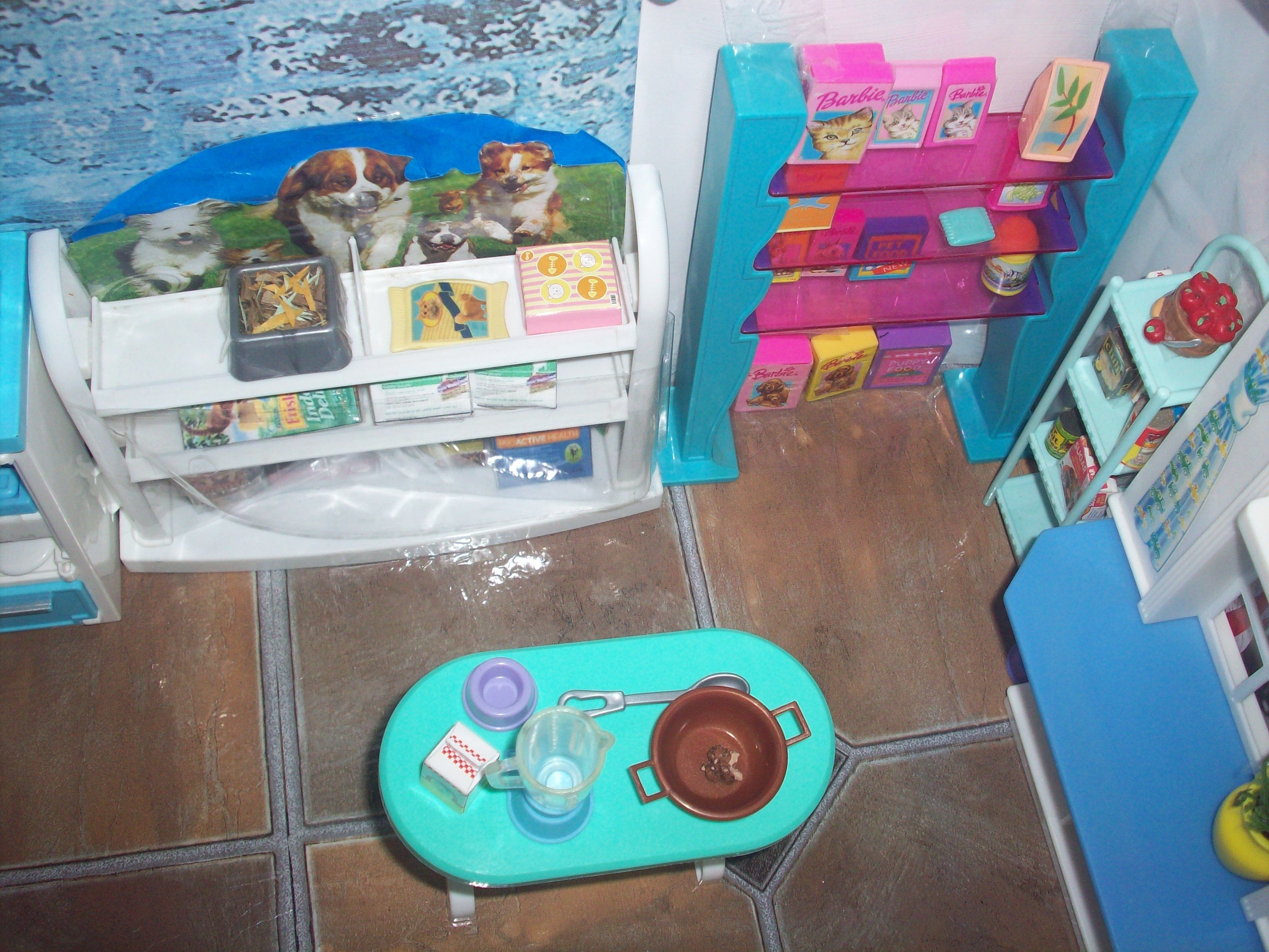 1:6 OOAK dollhouse pet vet clinic kitchen | Barbie Dollhouse ...