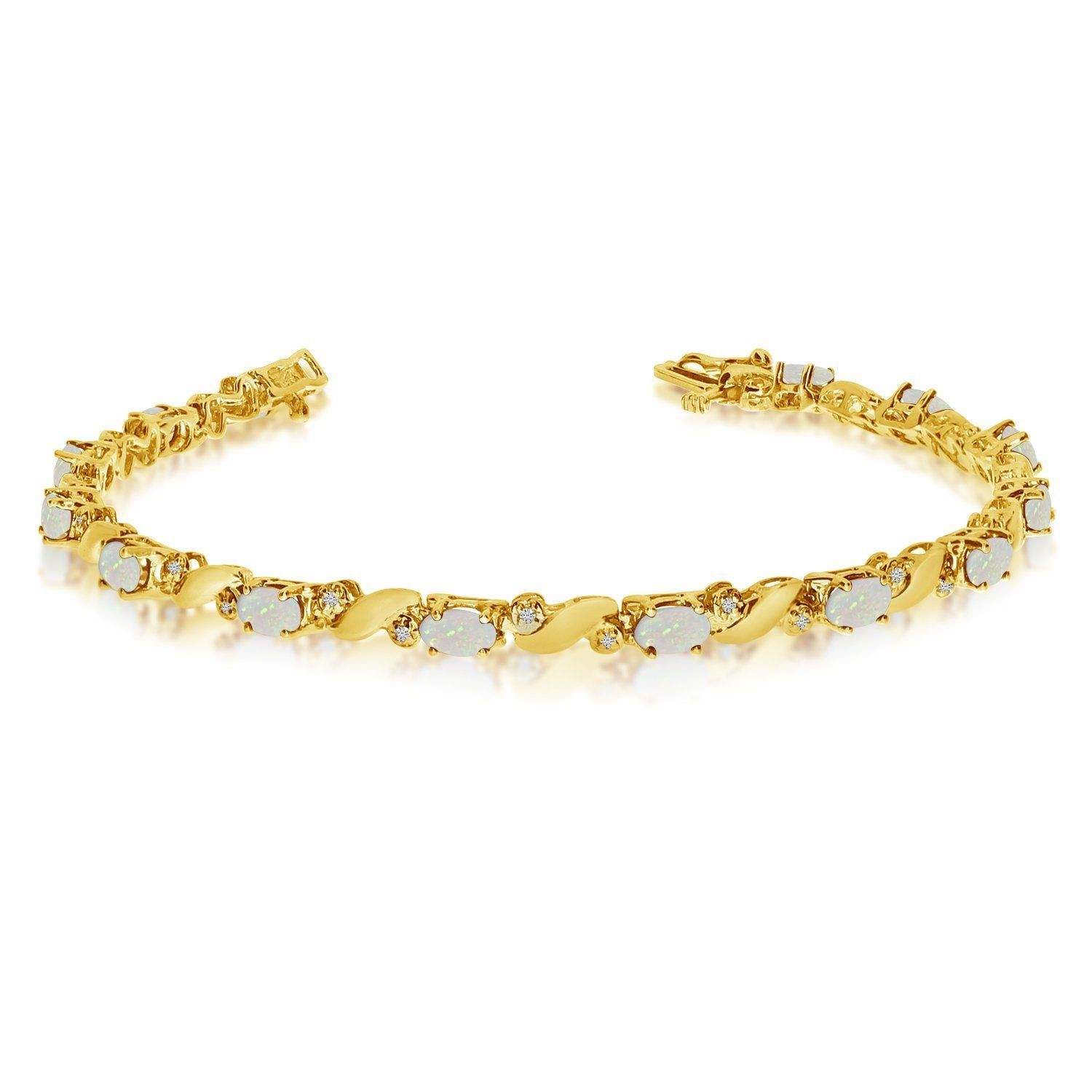 gold clarity diamond ankle yellow bracelet color cttw dp and i jewelry white com bracelets amazon h anklet
